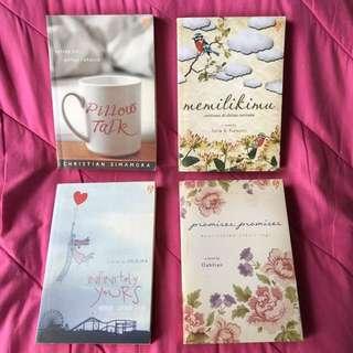 Paket Novel Love Story