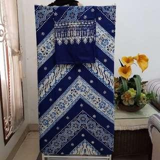 Stelan Kain & Selendang Batik