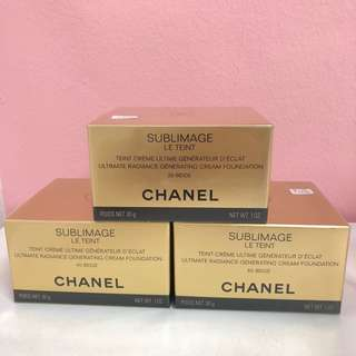 Chanel Sublimage Le Teint Ultimate Radiance Generating Cream Foundation 30g
