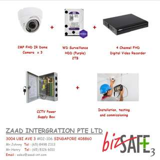 CCTV Package with Installation
