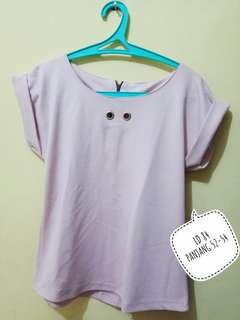 Women top pale pink