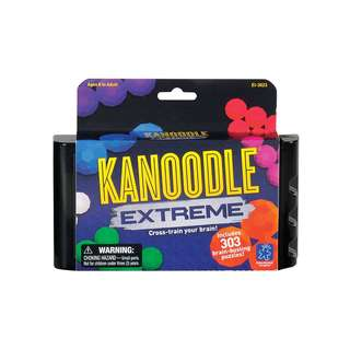 Educational Insights Kanoodle Extreme 303 Brain-busting puzzles