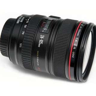 CANON EF24-105mm f/4L IS USM LENS