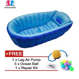MOMO House Inflatable Baby Bathtub