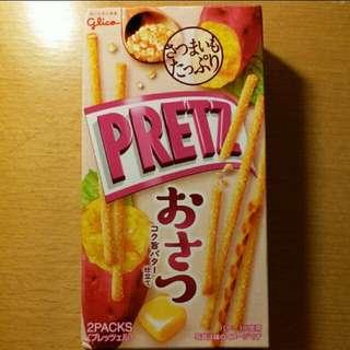 日本牛油蕃薯味百力滋