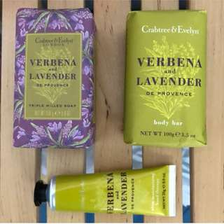 Crabtree & Evelyn Lavender & Verbana
