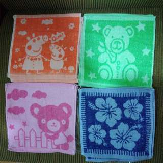 BRANDNEW Assorted Designs Face Towel (12pcs)
