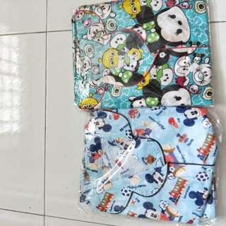 Tsum tsum and baby mickey pajamas