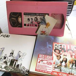 F(x)-Red light / pink tape/ Electric shock