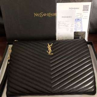 YSL Luxury Clutch