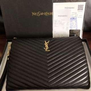 YSL Luxury Clutch