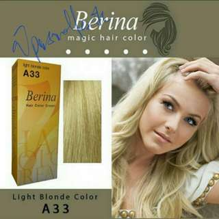 #A33 BERINA LIGHT BLONDE CLOLOUR