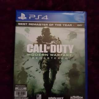call of duty modern warfare repasterd