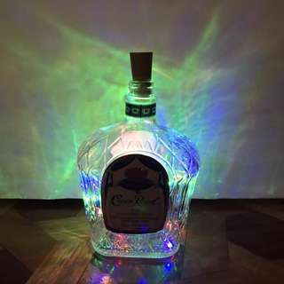Multicolor Liquor Bottle Lamps