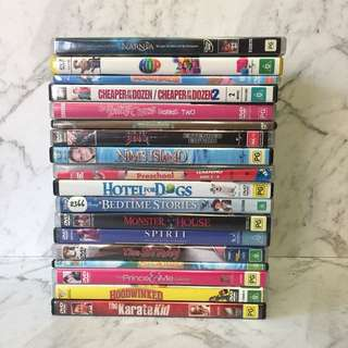 Children CDs movies
