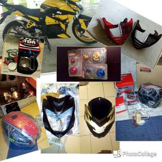 Fz16 accessories and spare parts
