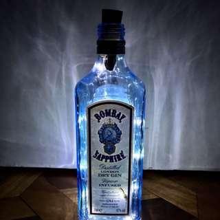 Liquor Bottle Lamps For A Cause!