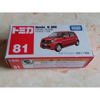Tomy Tomica No.81 Honda N-One