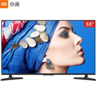 "55"" 4C Xiaomi TV,Brand New,Real 4K Panel,Narrow Frame,Piano paint"