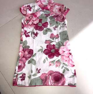 CNY Girls Cheongsam Dress