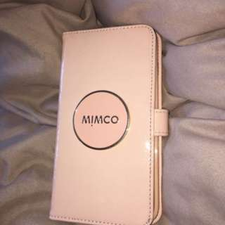 NEW mimco pink iphone 7 case