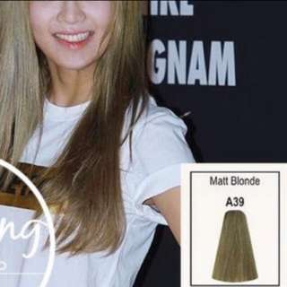 #A39 BERINA MATT BLONDE COLOUR