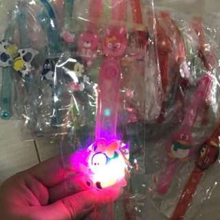 Instock kids handwrist w lightings brand new buy 10get 3free