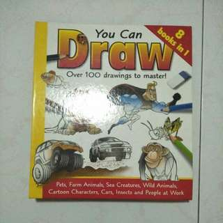 You Can Draw Giant Drawing Book