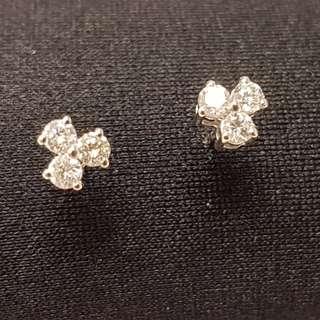 60份鑽石耳環