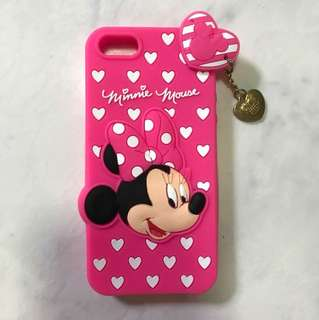 iPhone 5s Minnie Mouse Rubberise Cover