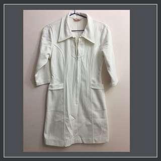 🚚 全新短袖M號護士服-裙裝