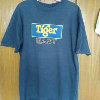 SLeague 5th anniversary East West Challenge tshirt. tiger beer