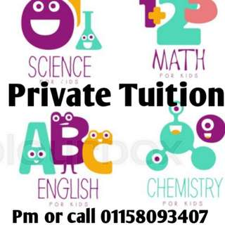 Home private tuition