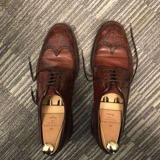 Cordovan Carmina Shoes Size US 9