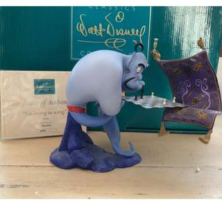 "Walts Disney Classic Collection - ""IM LOOSING TO A RUG"" ALADDIN LIMITED EDITION"