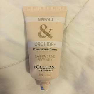 L'occitane Body Milk