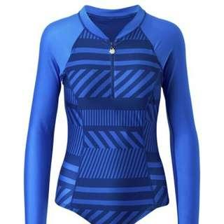 UV Skinz UPF50 long sleeve swimsuit L