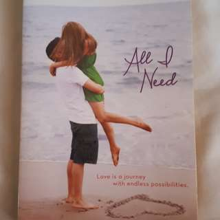 All I Need by Susane Colasanti (pre-loved)