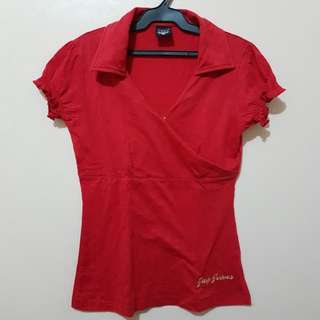Jag Red Blouse