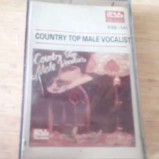 Country  Top Male  Vocalist  Cassette