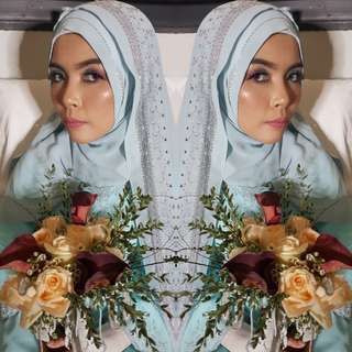 Bridal Wedding Makeup by Lulu Ijni