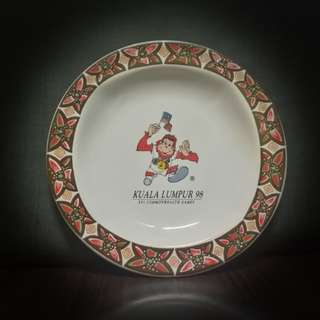 Limited Edition KL 98 Commonwealth Games Plate