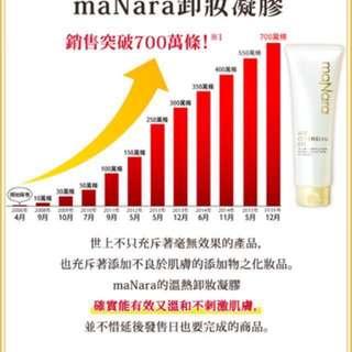 日本第一熱賣 Manama 卸妝熱凝膠