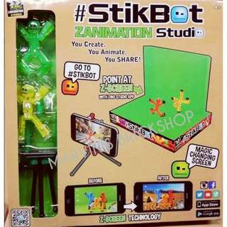 Hot Toy of 2018! StikBot ZANIMATION Studio set