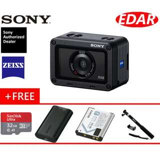 "Brand New Sony RX0 1.0"" Sensor Ultra-Compact Waterproof/Shockproof Camera (Sony Malaysia)"