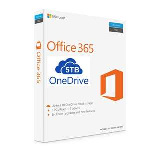 LIFETIME Office 365 (5 Devices) FOC 5TB OneDrive INSTANT DELIVERY