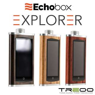 Echobox Explorer Hi-Res Digital Audio Player (With FREE Matching Wooden Dock!)