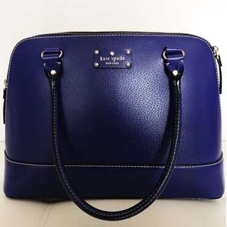 Kate Spade Wellesley Rachelle WKRU1431 (Color: Holidayblu)