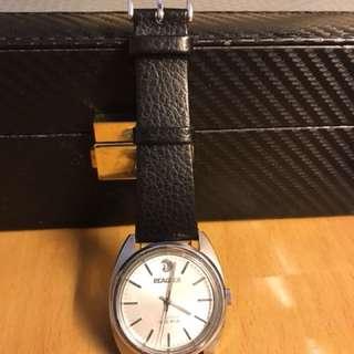 七十年代中古孔雀上鍊錶