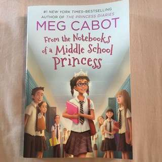 Meg Cabot From the Notebooks of a Middle School Princess